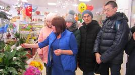 Экскурсия в цветочный магазин