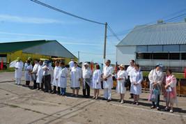 Республиканский конкурс мастеров машинного доения коров.