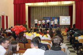 Смотр-конкурс «Волонтеры - это мы, я и ты!»
