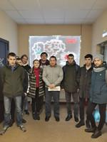 Студенты 315 группы в АО «Чувашское» по племенной работе