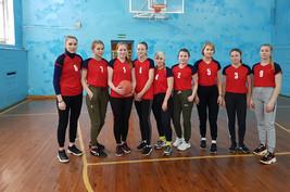 Баскетбол среди девушек